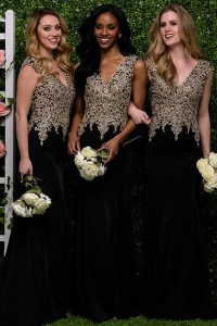 Black And Gold Bridesmaid Dress | www.pixshark.com ...