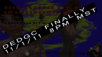 2011-11-01_JVonDRadio_DEDGCFinally