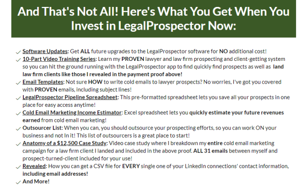 LegalProspector PRO Software by Anthony Devine