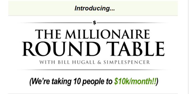 The Millionaire Round Table WSO by Bill Hugall