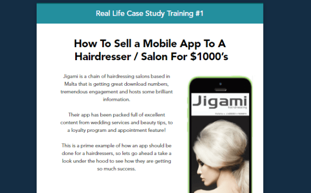 Real Life Case Study Mobile App Agency Software