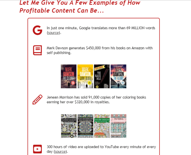 Easy Content System WSO Formula by Amy Harrop