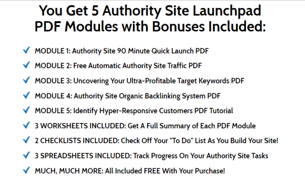Authority Site Launchpad WSO by Matthew Rhodes