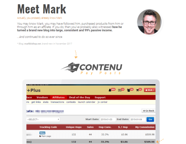 Contenu WSO System & OTO Upsell  by Mark Bishop