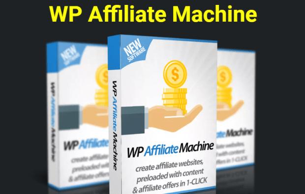 WP Affiliate Machine Plugin Software & OTO by Ankur Shukla