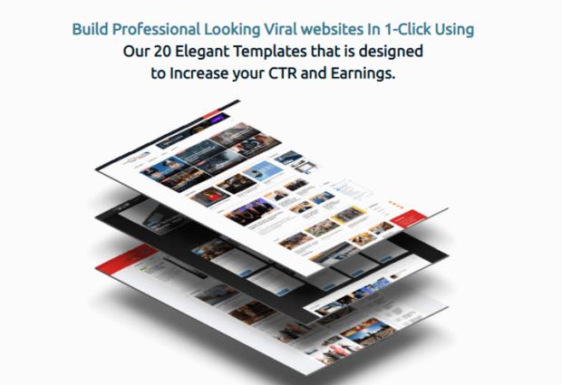 ViralSiteXpress News Sites Builder by Seun Ogundele