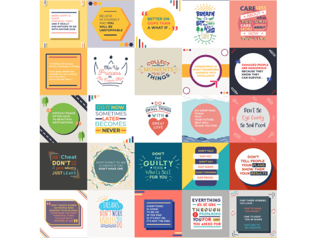 Viral Quote Posters Commercial by Deni Iskandar