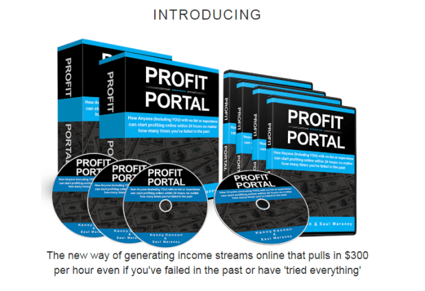 Profit Portal Training System & OTO by Kenny Cannon