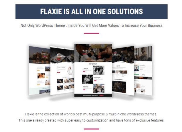 Flaxie Agency WordPressTheme by Fachrul Stream