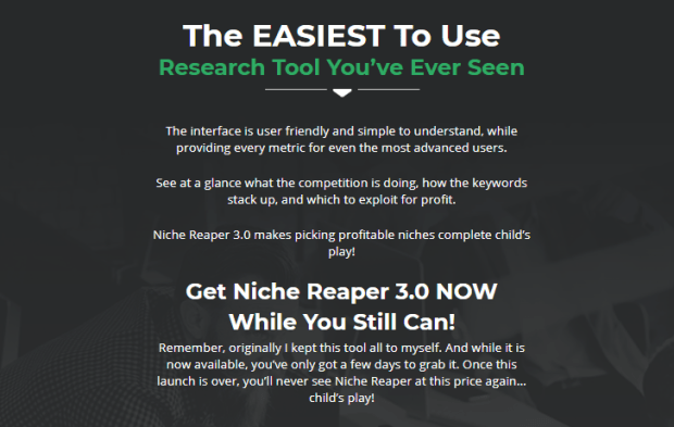 Niche Reaper 3.0 Pro Keyword Software by Matt Garrett