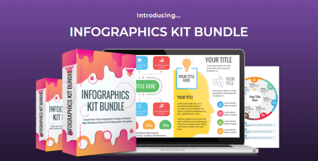 Infographics Kit Bundle Template by Deni Iskandar