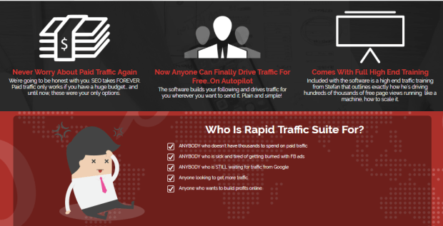 Rapid Traffic Suite Software & Training OTO by Paul Okefee