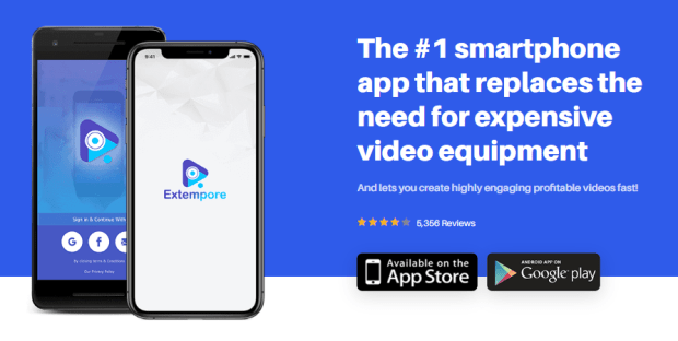 Extempore App Commercial Video Software