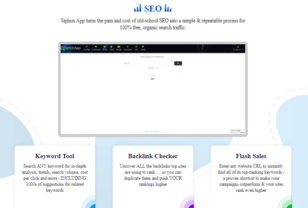 SiphonApp Pro Software & OTO by OJ James