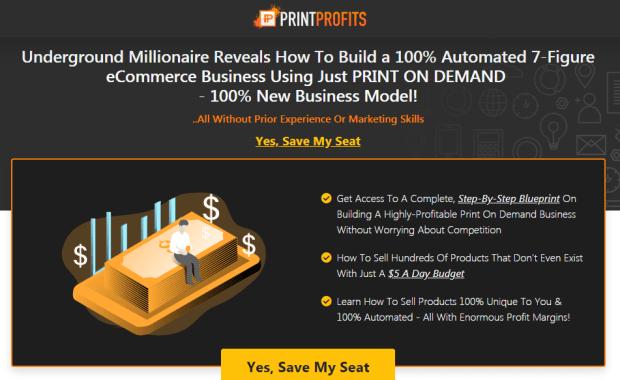 Print Profits 2.0 Training Webinar by Michael Shih