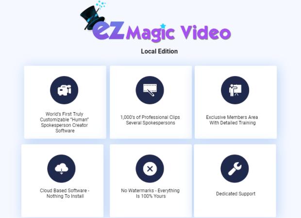 EZ Magic Video Local Edition by Matt Bush