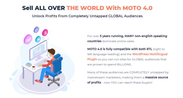 MotoTheme 4.0 Commercial OTO Upsell by Vivek Gour
