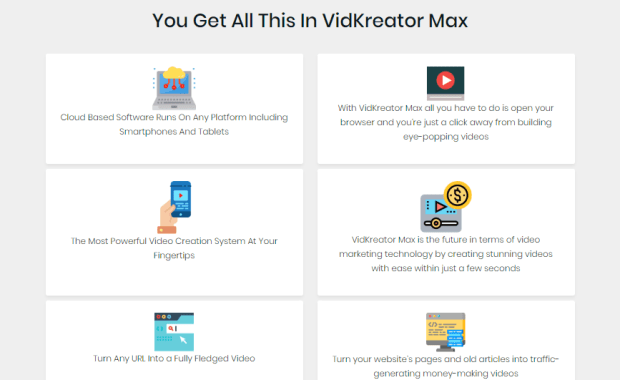 VidKreator MAX Software OTO Upsell Review