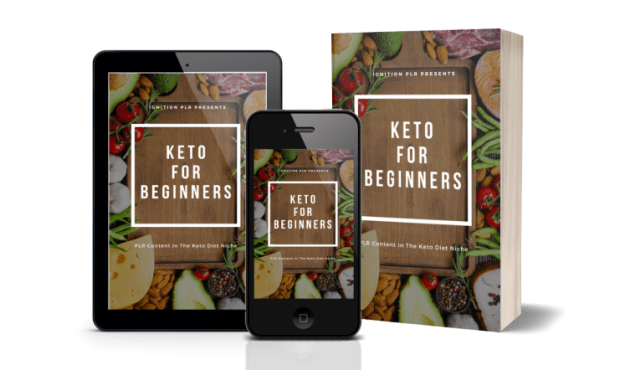 Keto For Beginners PLR Bundle Review & OTO Upsell