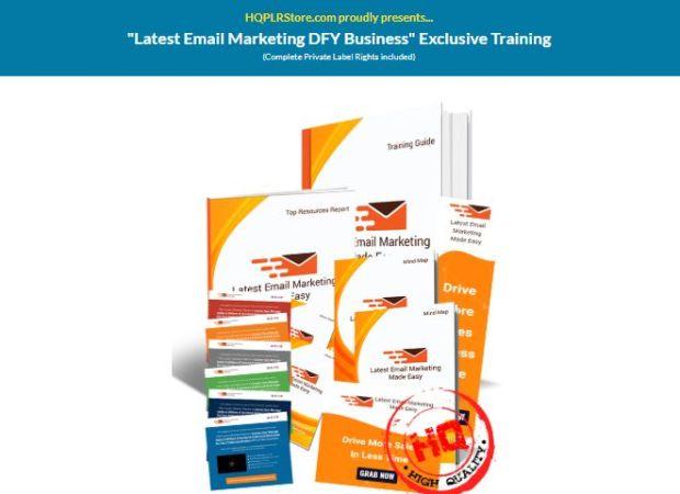 Latest Email Marketing DFY Business PLR by Dr Amit Pareek