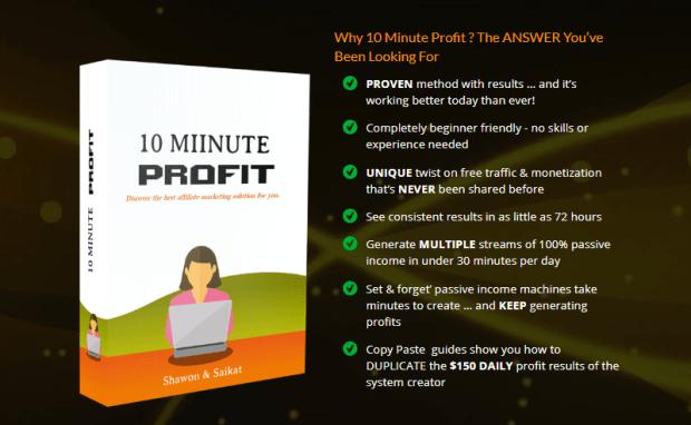 10 Minute Profit Method & OTO by Shawon Kaiyum