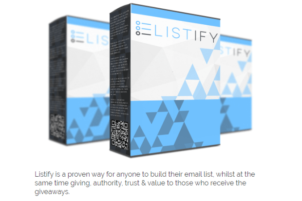 LISTIFY Software & OTO Upsell by Richard Fairbain