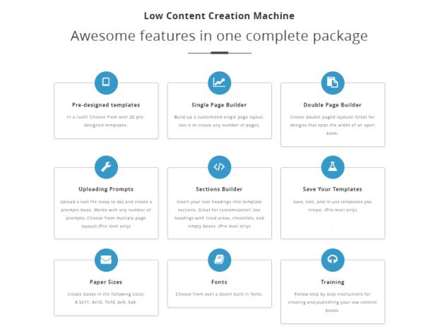 Low Content Creation Machine & OTO by KenBluttman