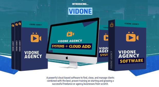 VidOne Software Systems & OTO Upsell by Radu Hahaianu