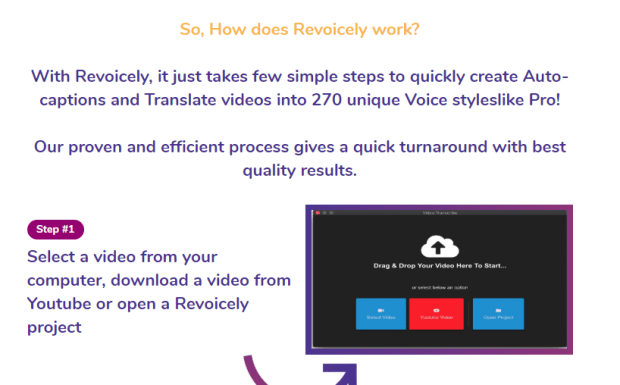 REVOICELY App Software OTO & Upsell by Radu Hahaianu