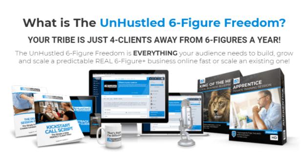UnHustled 6-Figure Freedom & OTO by Sean Donahoe