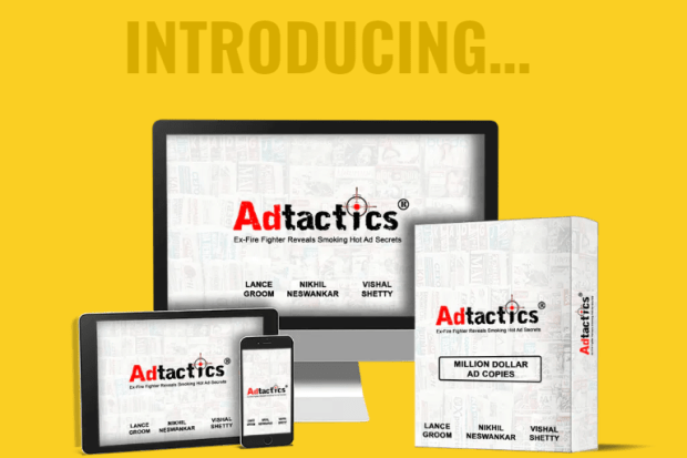 Adtactics Training & OTO Upsell by Lance Groom