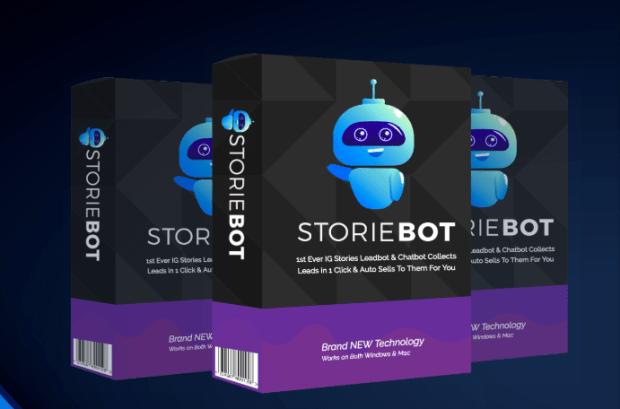 StorieBot Software & OTO Upsell by Tom Yevsikov