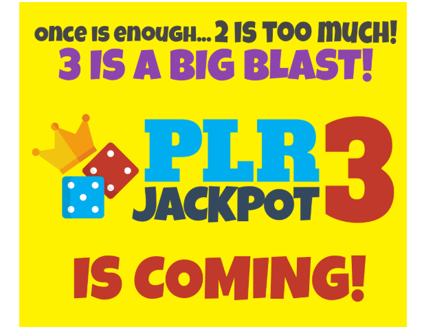 PLR Jackpot 3 & OTO Upsell by Eric Holmlund