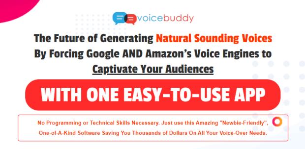 VoiceBuddy App & OTO Upsell by Ali G