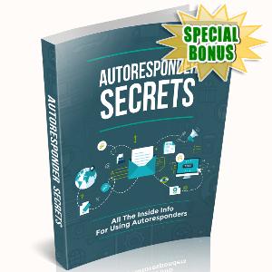 Special Bonuses - June 2015 - Autoresponder Secrets