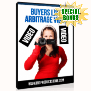Special Bonuses - June 2015 - Buyers List Arbitrage Video