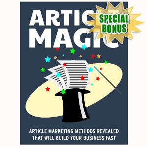 Special Bonuses - July 2015 - Article Magic