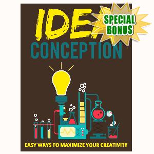 Special Bonuses - July 2015 - Idea Conception