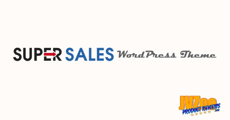 Super Sales WordPress Theme Review and Bonuses - Logo