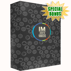 Special Bonuses - August 2015 - IM How To Videos Pack Part 1