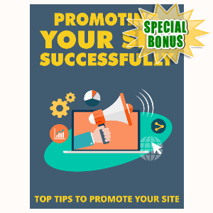 Special Bonuses - September 2015 - Promoting Your Site Successfully