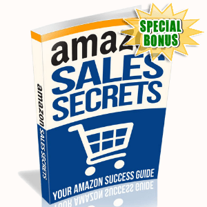 Special Bonuses - September 2015 - Amazon Sales Secrets