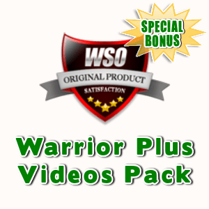 Special Bonuses - October 2015 - Warrior Plus Videos Pack