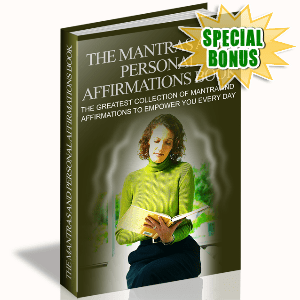 Special Bonuses - February 2016 - The Mantras And Personal Affirmations Book