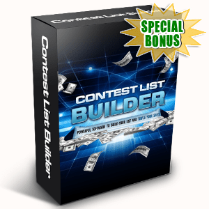 Special Bonuses - April 2016 - Contest List Builder Software