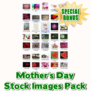 Special Bonuses - May 2016 - Mother's Day Stock Images Pack
