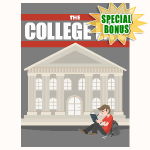 Special Bonuses - May 2016 - The College Life