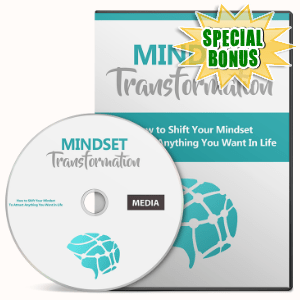 Special Bonuses - August 2016 - Mindset Transformation Gold Video Series