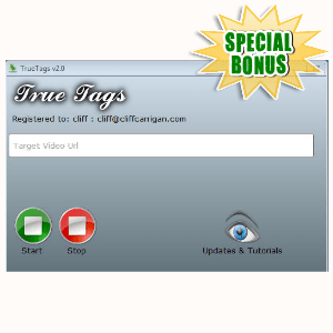 Special Bonuses - August 2016 - True Tags Software
