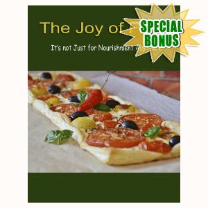Special Bonuses - September 2016 - The Joy Of Food